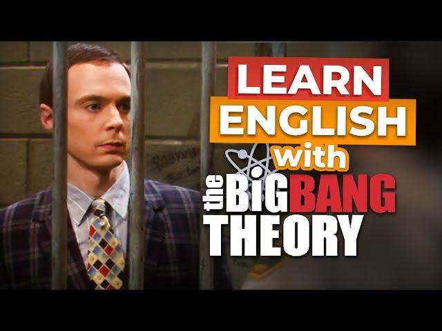 مکالمه The Big Bang Theory Sheldon Goes to Jail زبان انگلیسی