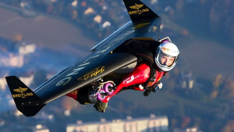 Fly with the Jetman _ Yves Rossy